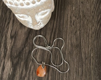 Carnelian fertility necklace