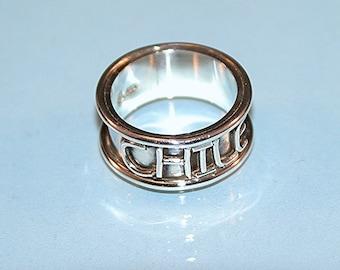 costume design silver ring