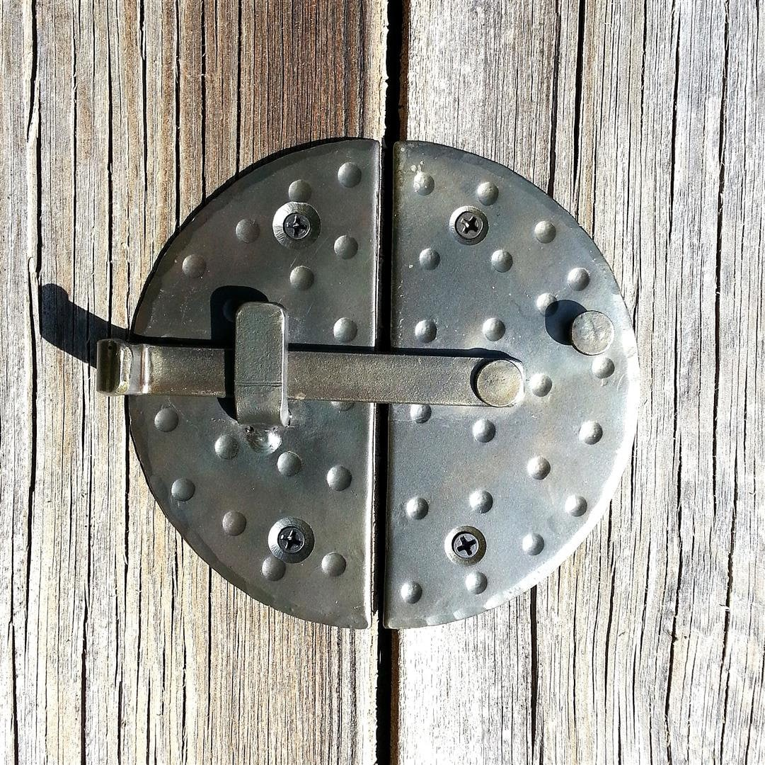 Hand Forged 4 7 Round Cabinet Door Latch Iron Cupboard