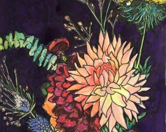 Original watercolor painting 25/100
