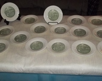 Homer Laughlin Pastoral Taylor Smith and Taylor; 29 piece lot Laughlin TST