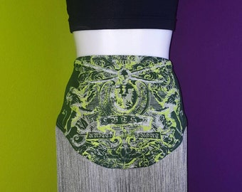 Green With Envy bellydance festival hipscarf