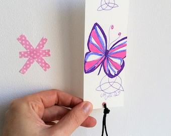 Marque-pages Papillon celte
