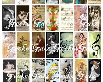 Musical Jewel It Digital Collage Sheet