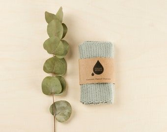 Clean Clean Dishcloth | Facecloth | Flannel in sage