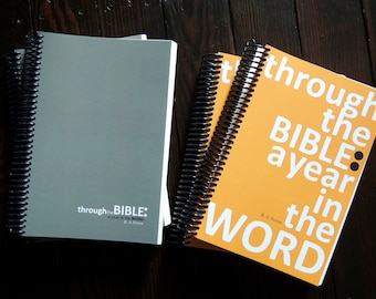 Through the Bible: a year in the Word