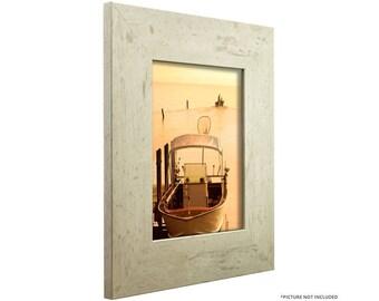 "Craig Frames, 20x24 Inch Modern White Picture Frame, Bauhaus 3"" Wide (660122024)"