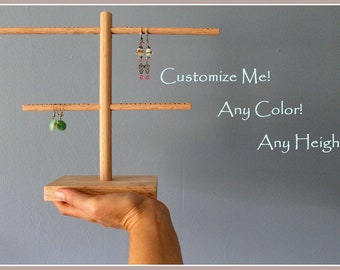 Earring Holder, Earring Organizer, Earring Rack, Craft Show Display, Earring Storage, Retail Rack, Photography Prop