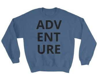 Adventure Comfy Casual Crew Neck Sweatshirt