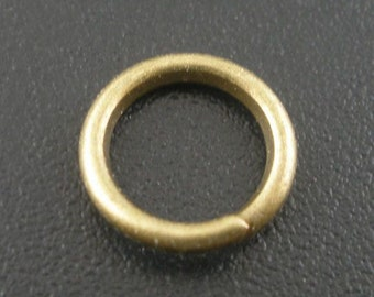 50 - 8mm Bronze Plated Jump Rings