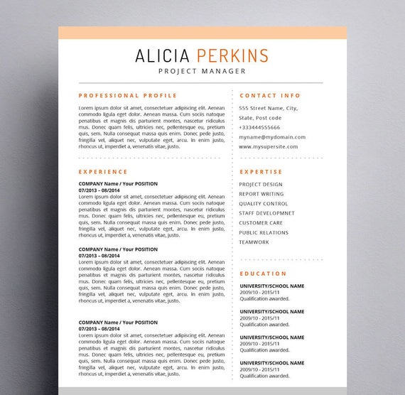 Resume Template For Mac Apple Pages U0026 Word For Mac Ready