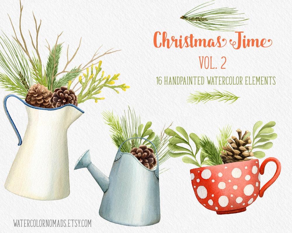 Christmas Clipart Winter Decor