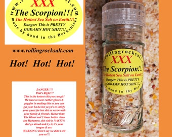 Scorpion Pepper Sea Salt