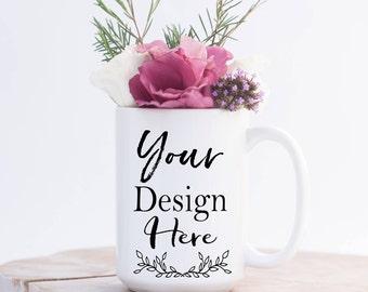 Personalized Coffee Mug - You Chose the Design! Custom - Personalized - 11 oz. or 15 oz.