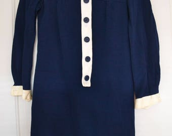 1960s collared dress