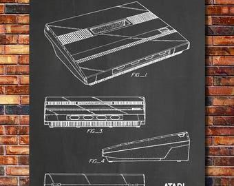 Atari 5200 Patent Print Art 1983