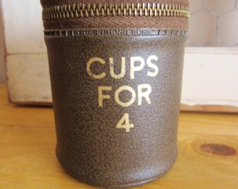 Portable Cups in Case