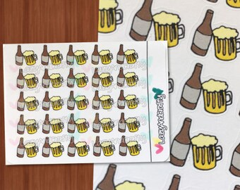 Beer Icon - Cheers - Planner stickers - ECLP, Happy Planner, Filofax, scrapbooking and more!
