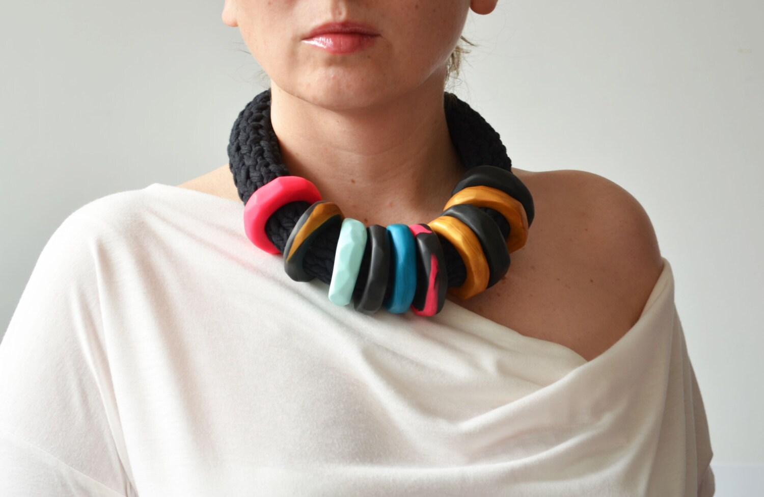 African jewelry African necklace African clothing modern