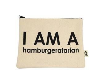 Ich bin ein Hamburgeratarian-Beutel