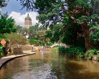 San Antonio River Walk Photographic Print