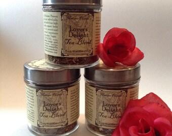 Lover's Delight Sensual Magic Tea Blend
