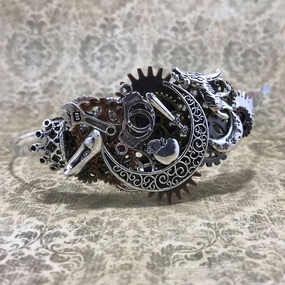 Steampunk Lunar Chronicles Headband