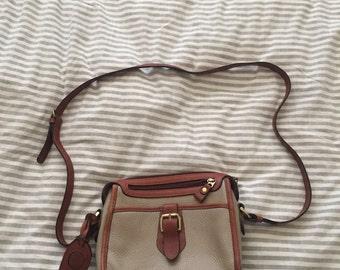 Liz Claiborne brown and tan purse