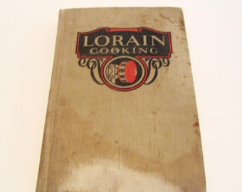 1927 Lorain Cooking American Stove Company 5th Edition Cook Book