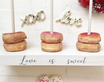 donut stand - cake table - donut wall - doughnut stand - doughnut bar - doughnut wall - wedding