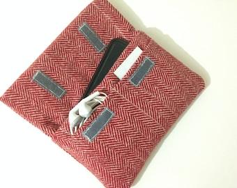 Herringbone,Fabric iPhone 6 case, floral iPhone 6 Plus cover, fabric iPhone 6S case, iPhone 6S Plus pouch, iPhone SE sleeve, iPhone 5 case