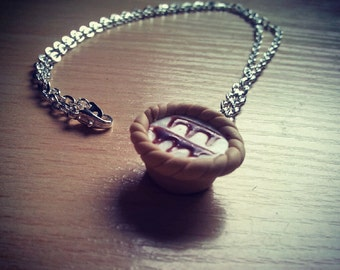 Bakewell Tart Necklace