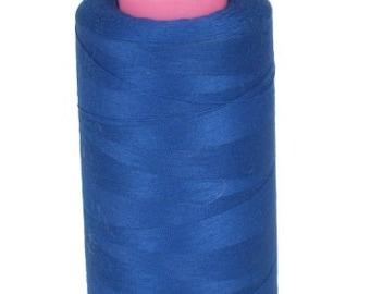 Royal Blue Overlock Poly Thread 6000 Yards