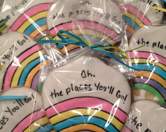 Oh The Places Youll Go Cookies
