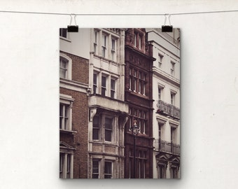 London Travel Photography, Architectural Print, 8x8 Photo, Trafalgar