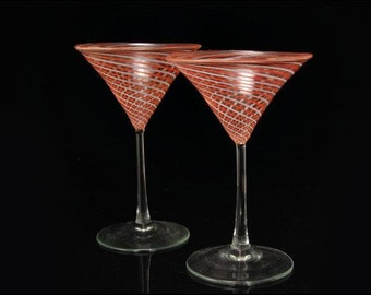 Swirl Art Glass Etsy