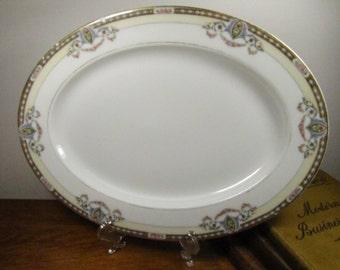 Vintage Serving Platter - Noritake - Atlanta Pattern