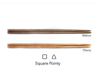 Square-Pointy style (100% Tung oil finish)