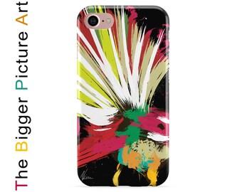 Bird Phone Case. Fantail Art. NZ Fantail bird phone cover, birthday gift idea