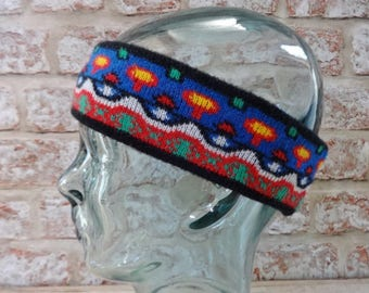 Ski Winter Headband 80s Retro Vintage Approx.44cm x 6.5cm