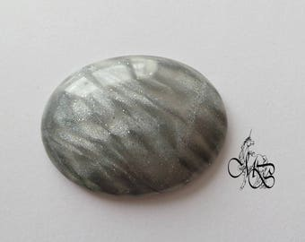 """Oval cabochon souvenir collection """"with Strass"""" 40 x 30 mm"""