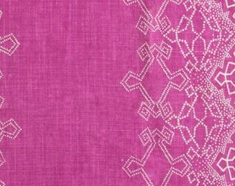 "Lisa Fine ""Aswan"" Hand Printed Linen Drapery Panels"
