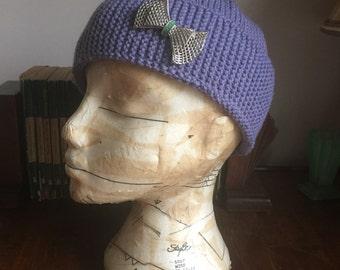 Handknitted 1930s Fez Hat