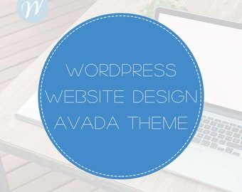 Wordpress Website Design with Avada Theme   Website Design, WordPress Website, Website Development, Blog
