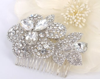 Crystal Dream-Swarovski Rhinestone Bridal Comb