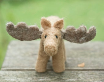 Needle Felted Moose