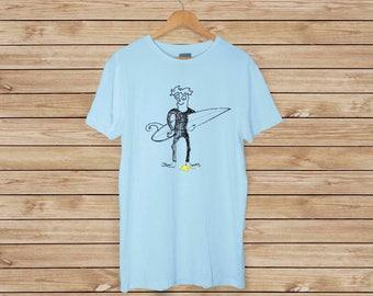 Surfer T-Shirt-wer nicht? -Lustige-T-Shirt - surfen - Surf T-shirt