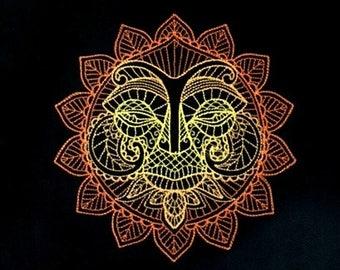 Here Comes the Sun Tarot/ Altar Cloth