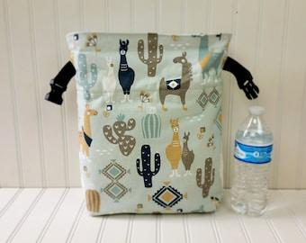 Lunch Bag - Llama Gifts - Llama Bag - Llama Lunch Bag - Lunch Bag Insulated - Llama Lunch Tote - Roll Top Lunch Bag - Llama Bag