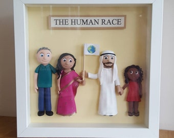 The Human Race clay picture